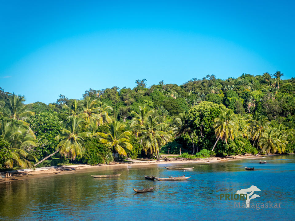 Stand Insel Sainte Marie Madagaskar