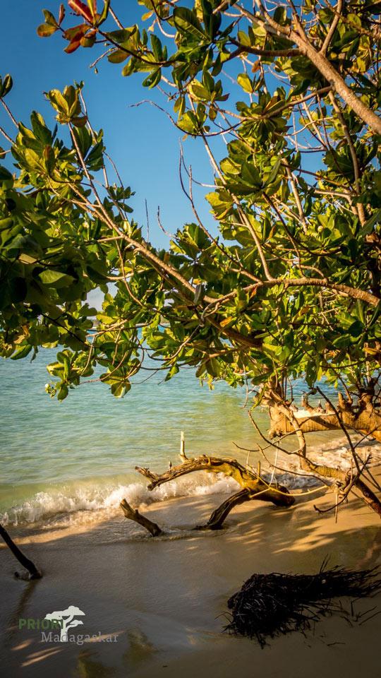 Strand Insel Sainte Marie Madagaskar
