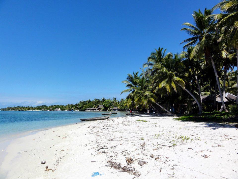 Ile aux Nattes Madagaskar Strand Meer Palmen
