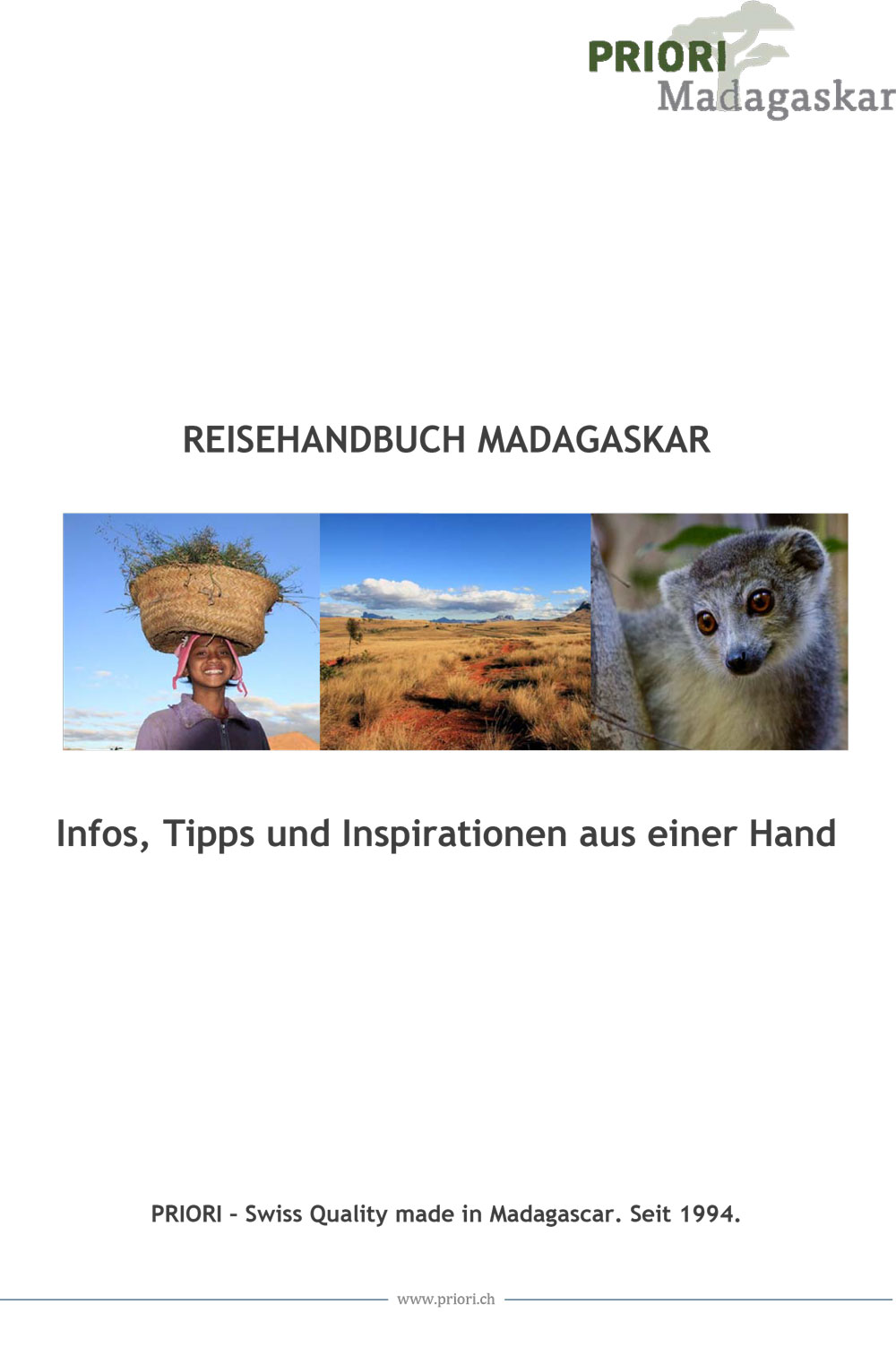 Reisehandbuch Madagaskar PRIORI Reisen