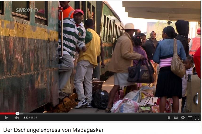 Dschungel Express Madagaskar Eisenbahn