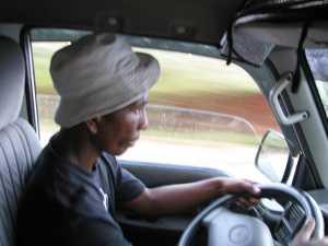 Madagaskar Taxi Brousse Fahrer