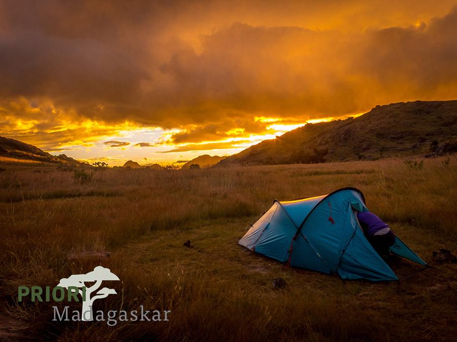 Camping Zelten Zelt Madagaskar