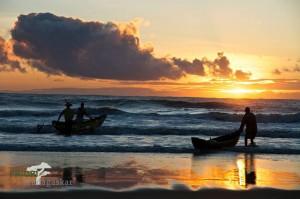 Madagaskar Westküste Sonnenuntergang