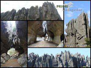 Wandern Tsingy de Bemaraha Madagaskar Westen Reisen