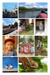 Madagaskar Reise SAVA Vanille Dorf