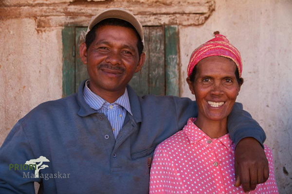 Madagaskar Familie Hochland