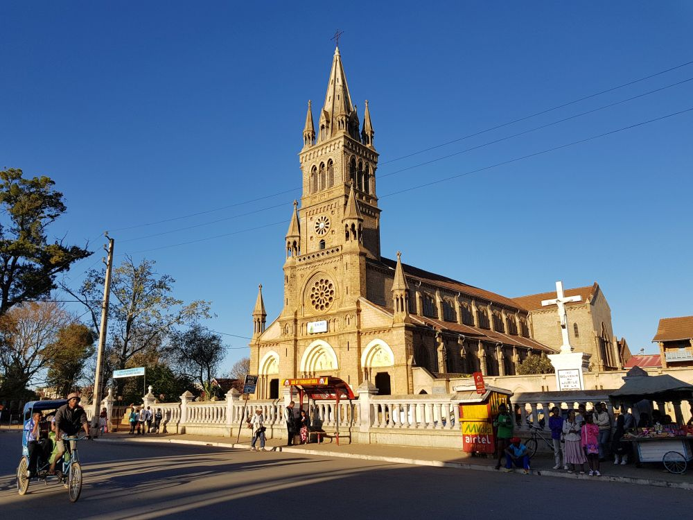 Kathedrale Antsirabe Madagaskar Madagascar www.priori.ch