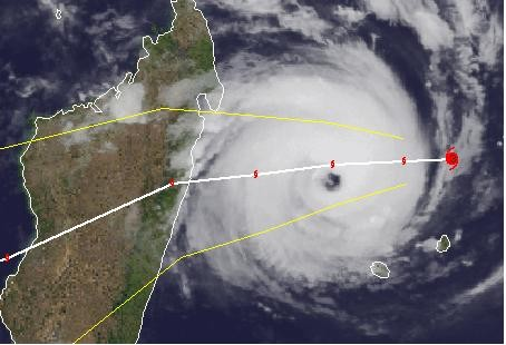 Zyklon 2018 Madagaskar © Giovanna_Satellitenbild_Madagaskar