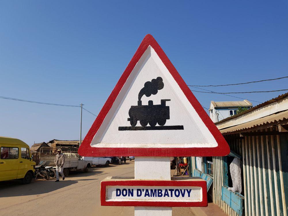 Die Eisenbahn in Madagaskar: Chemin de fer , Madagascar