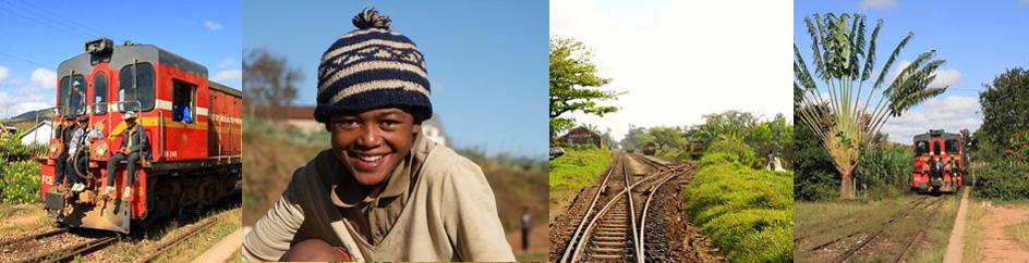 Eisenbahn FCE in Madagaskar