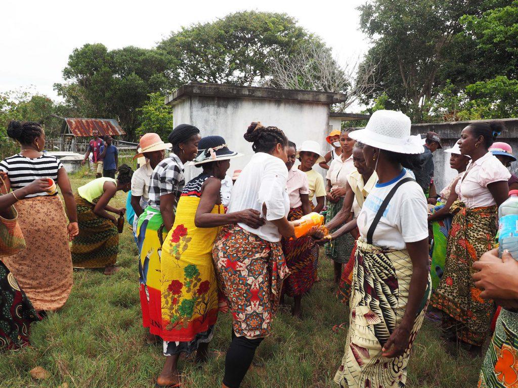 Limonade statt Wasser fürs Händewaschen, Madagaskar