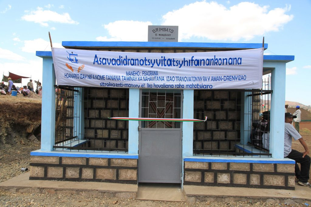 Neue Familiengrab Tritriva Madagaskar
