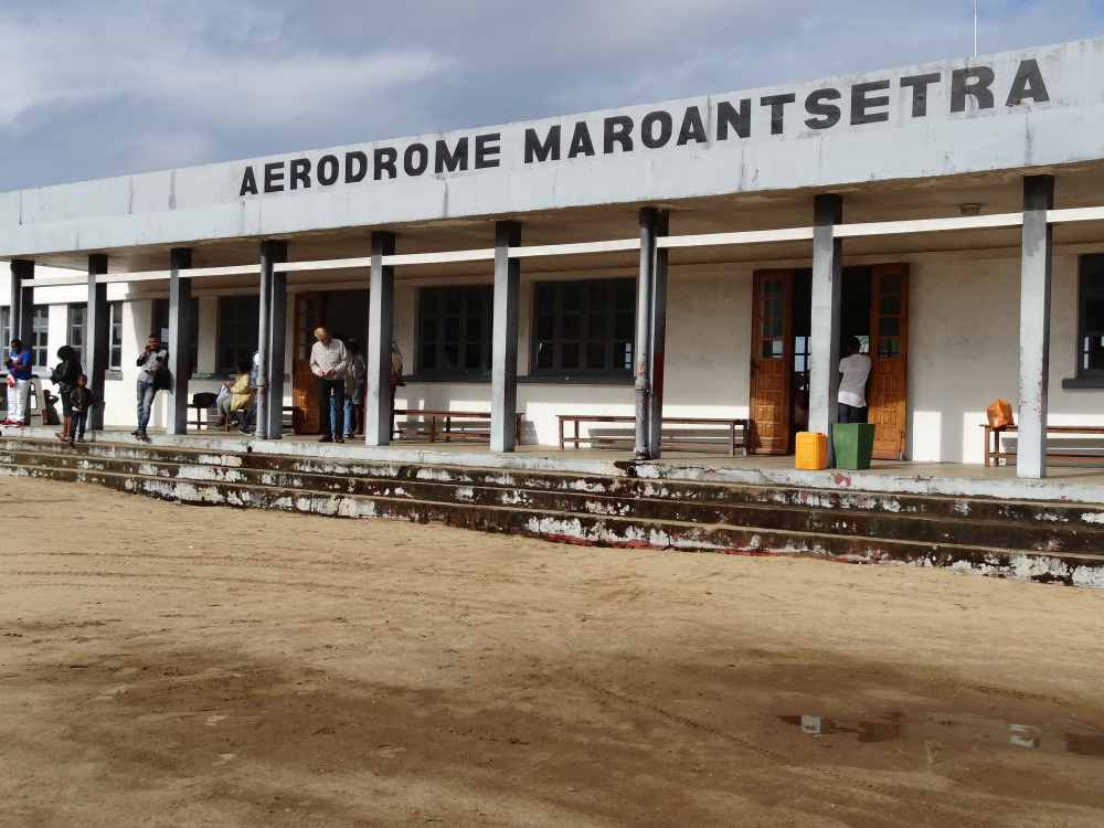 Anreise in den Masoala Nationalpark: Flughafen Maroantsetra