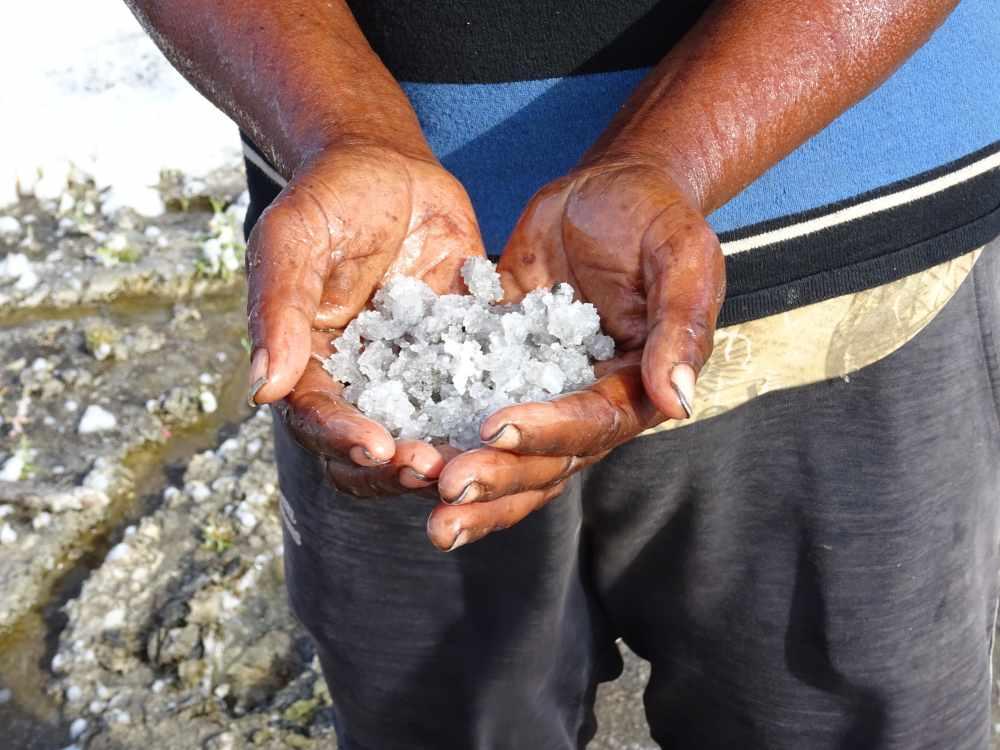 das tote meer von madagaskar: salzsee