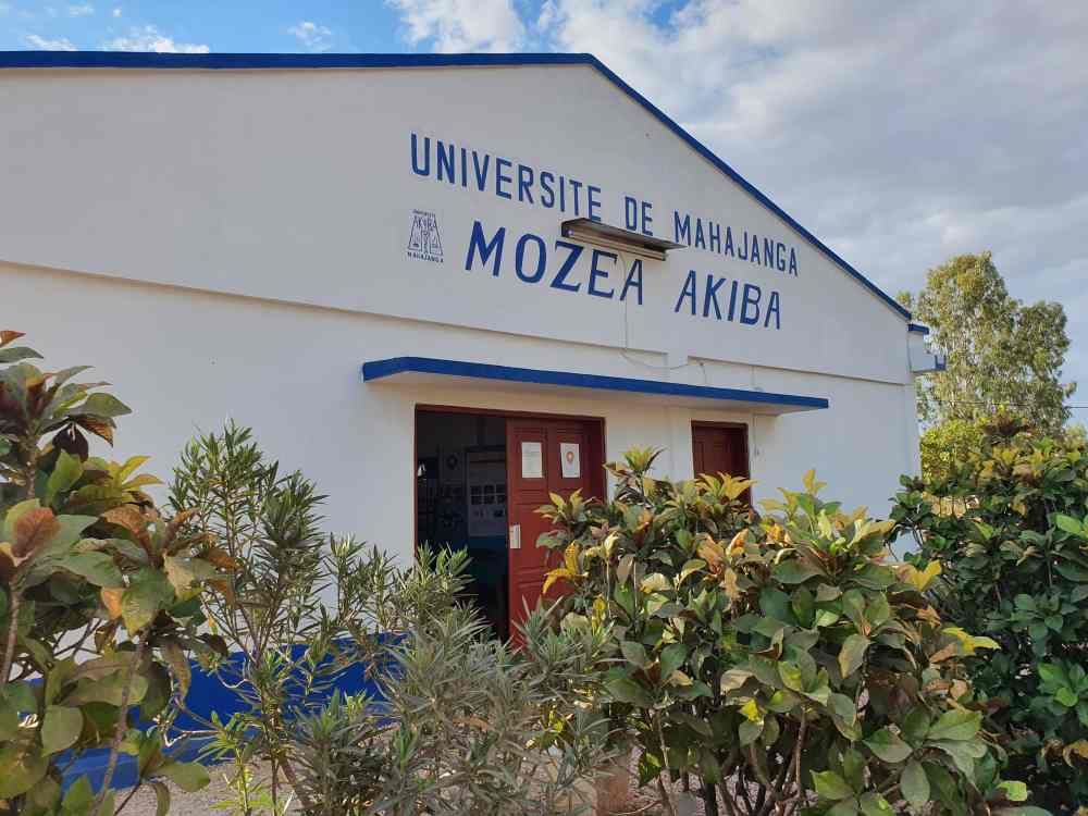 Aussenansicht Mozea Akiba Museum, Mahajanga, Madagaskar