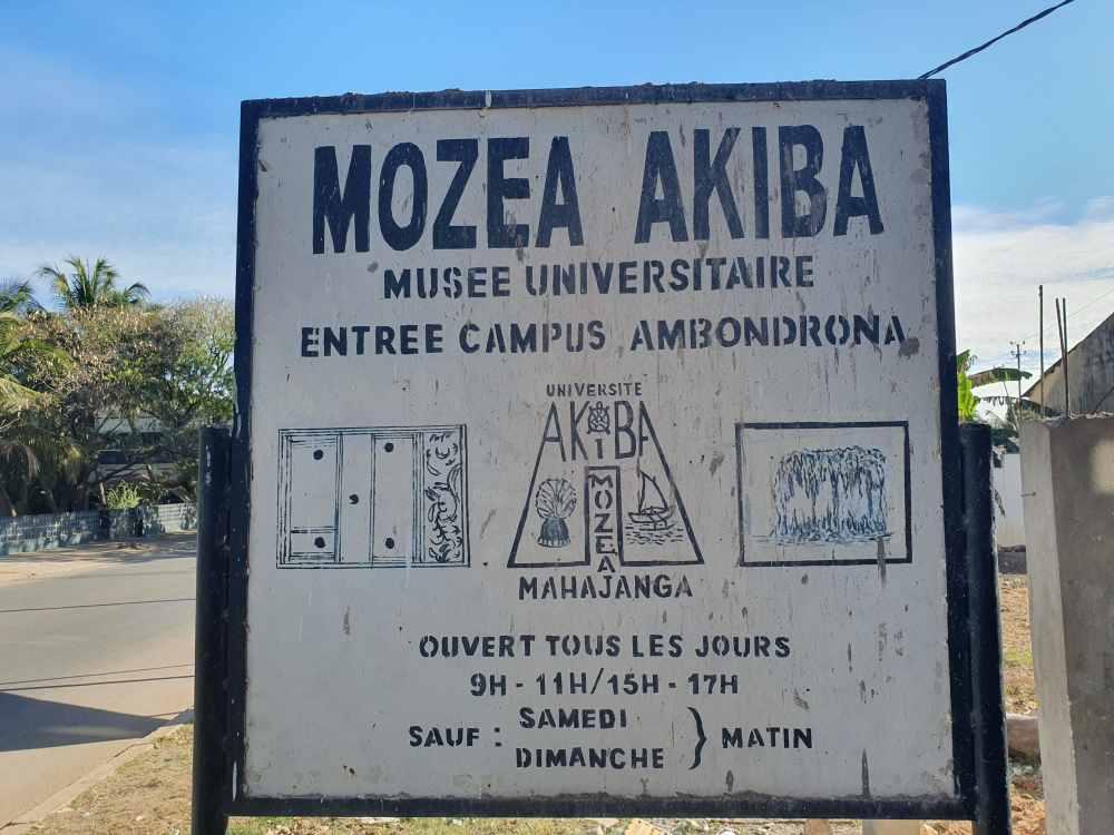 Mozea Akiba Museum in Mahajanga, Madagaskar