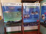 Zweisprachige Infotafeln im Mozea Akiba Museum, Mahajanga, Madagaskar