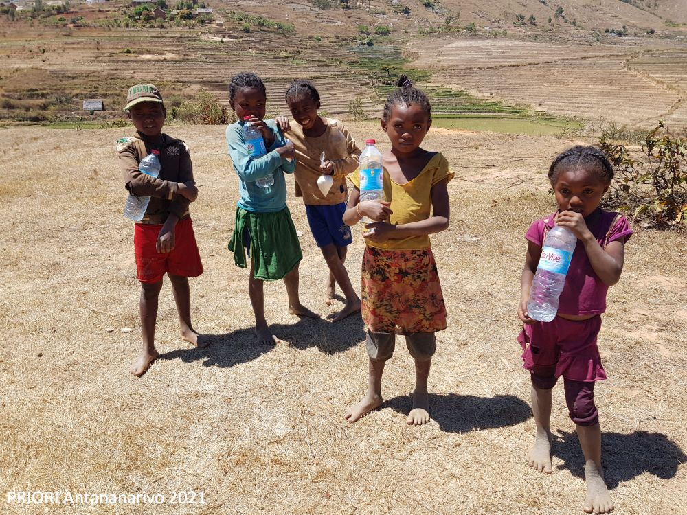In Madagaskar soll der Name das Schicksal des Kindes positiv beeinflussen.