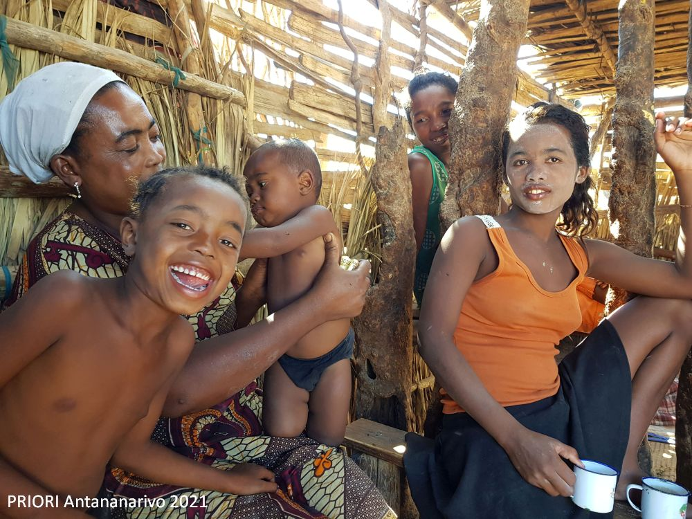 Die madagassischen Vornamen sind symbolische Begleiter der Kinder in ihre Zukunft.