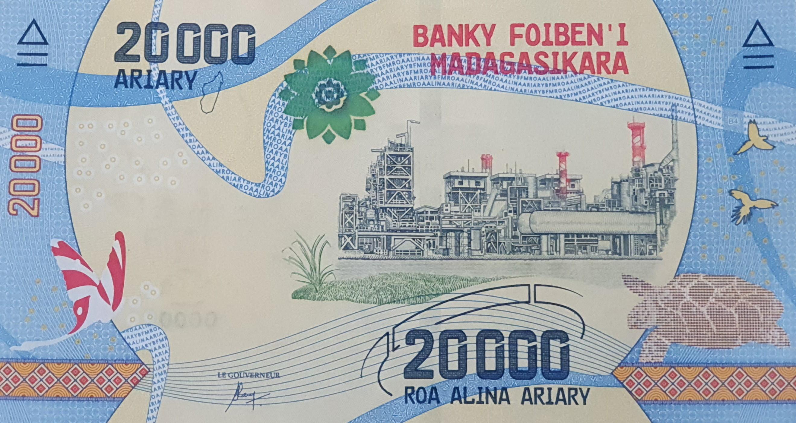 Banknote in Madagaskar, Geldschein von 20000 Ariary