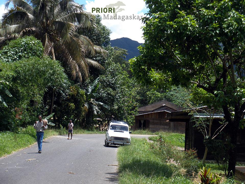 Unterwegs bei Andapa