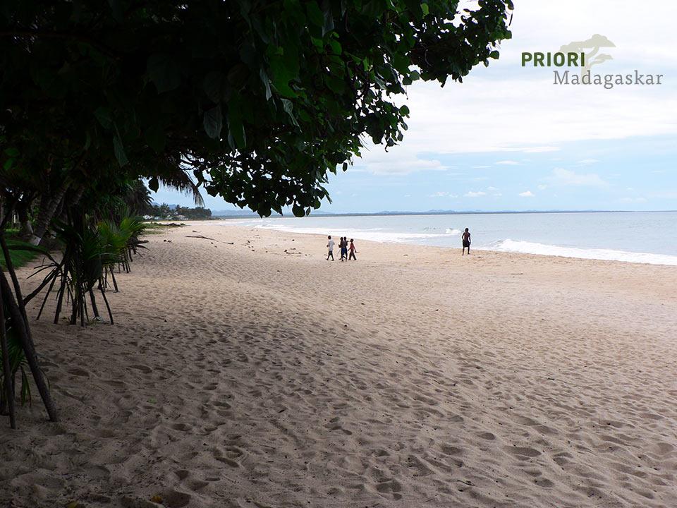 Der Strand von Sambava